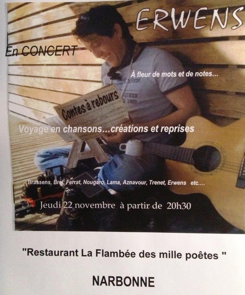 Dîner concert du 22 novembre 2012 ... Erwens dans évenement erwens1
